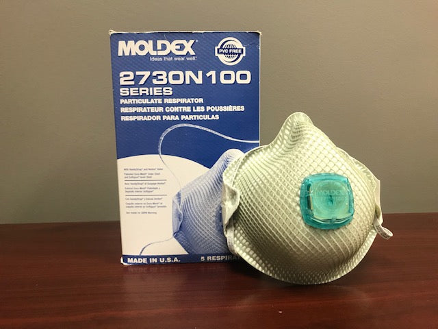 N100 PARTICULATE RESPIRATOR MEDIUM/LARGE (5/BOX)