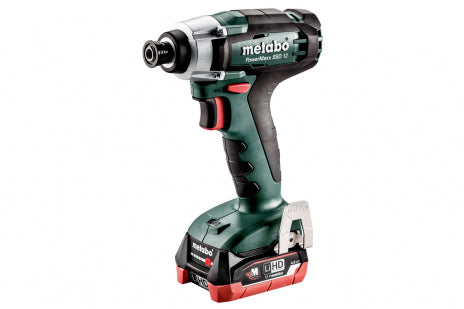 METABO POWERMAXX SSD 12 (601114520) CORDLESS IMPACT WRENCH