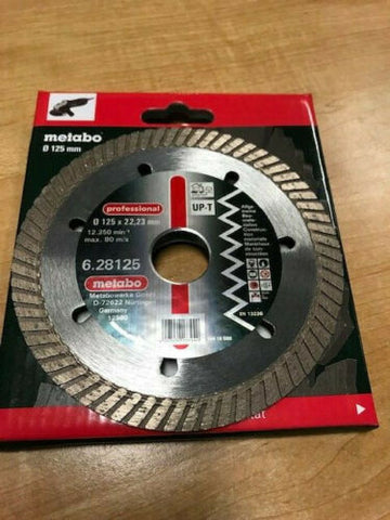 "Metabo Diamond cutting disc, 5 x 7/8"", ""professional"", universal (628125000)"