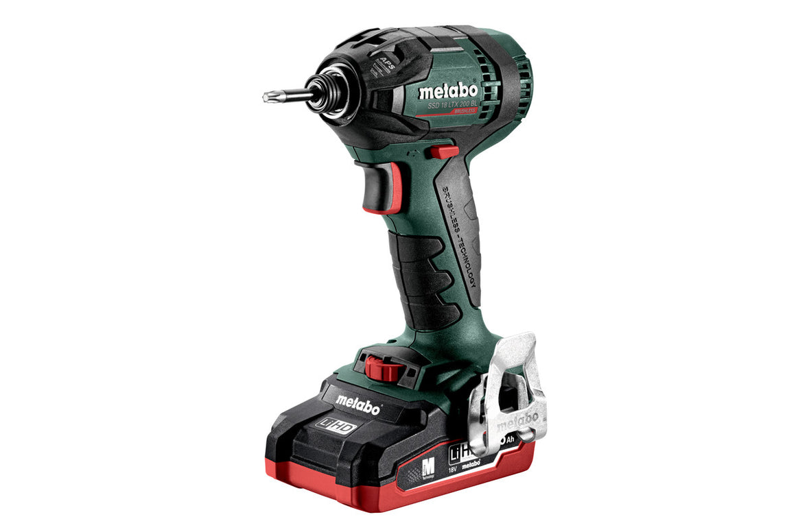 METABO SSD 18 LTX 200 BL (602396520) CORDLESS IMPACT WRENCH