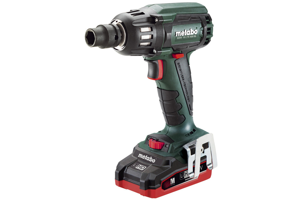 METABO SSW 18 LTX 400 BL (US602205310) CORDLESS IMPACT WRENCH