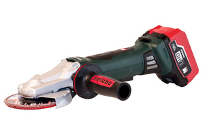 METABO:  WPF 18 LTX 125 (US613070620) CORDLESS FLAT HEAD ANGLE GRINDER