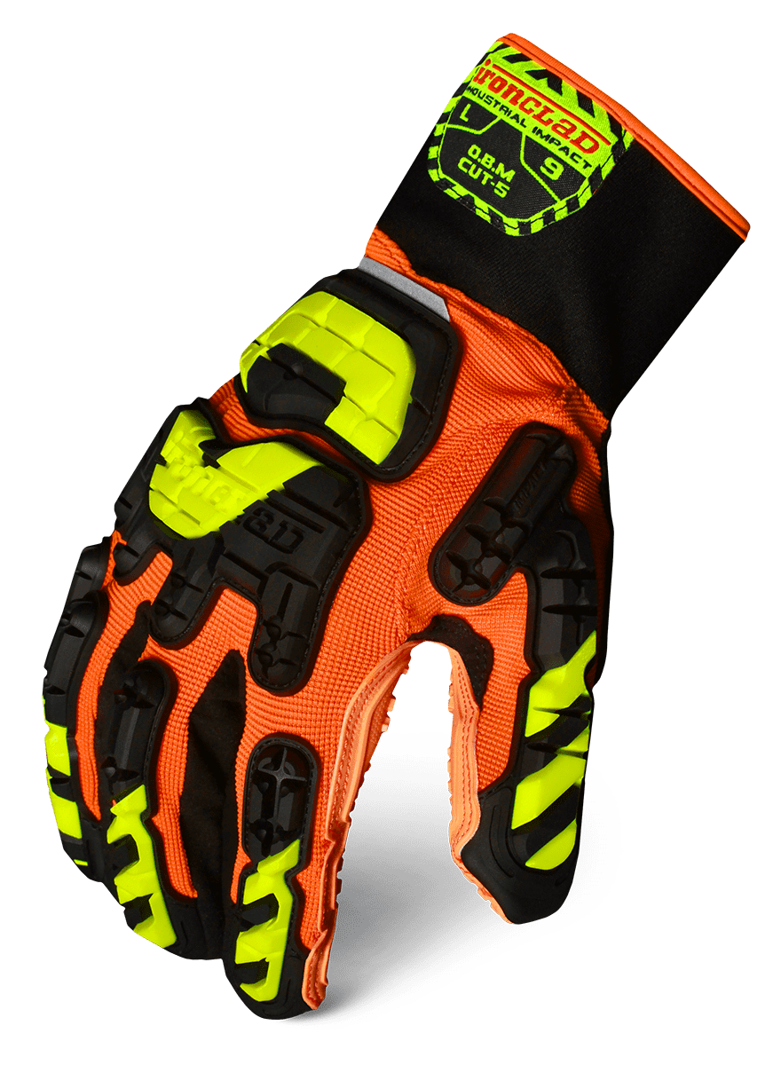 IRONCLAD VIB-OBMC5 - VIBRAM OIL BASED MUD CUT 5 GLOVE