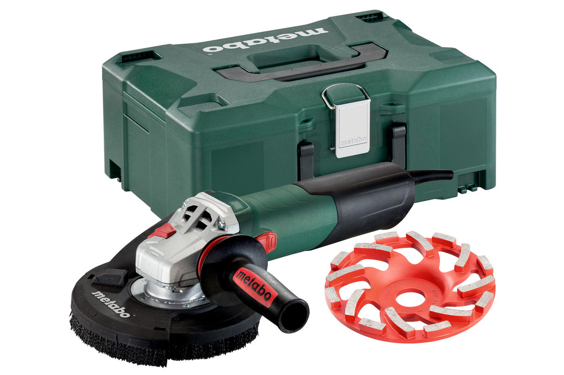 "METABO WE 15-125 HD SET GED (600465620) 5"" ANGLE GRINDER"