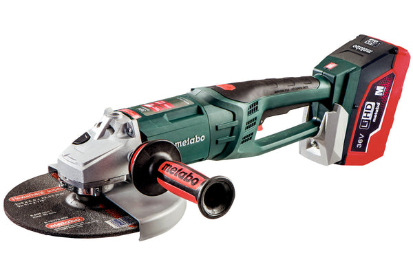 "METABO:  WPB 36 LTX BL 230 (613101640) 9"" CORDLESS ANGLE GRINDER"