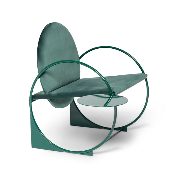 Bullarengue Lounge Chair by Armombiedro Studio