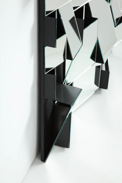 """Slopes"" Mirror by Neal Small, circa 1970s"