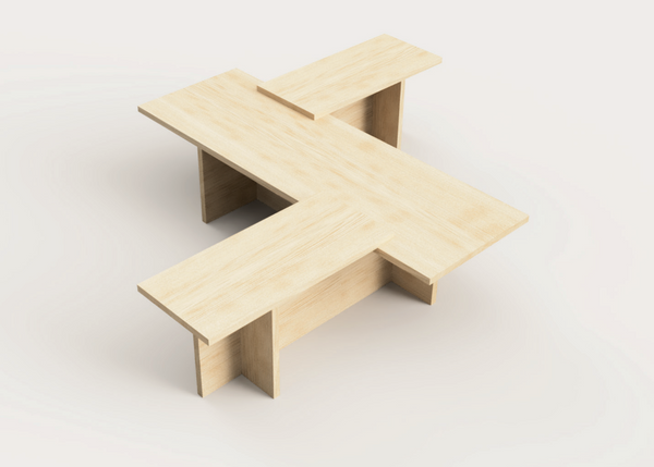 Home Group One Tea Table by Studio Beson