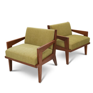 Acorn Lounge Chairs by Visilek (Pair)