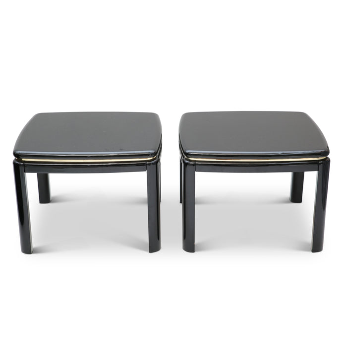 Piano Lacquered Side Tables