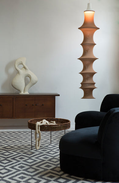 Biomorphic Curved Sofa