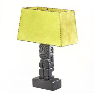 1950's Tiki Man Table Lamp by Rima