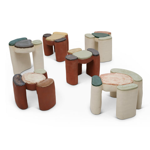Cell Side Tables by Eny Lee Parker