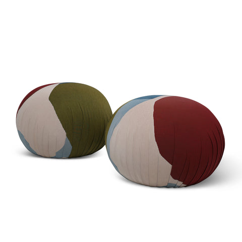 VISO Edition Pouf Ottomans by Love House