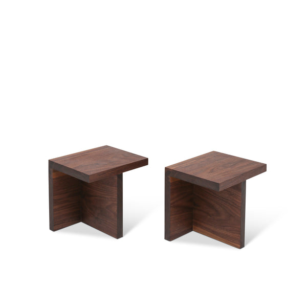 Home Group One Side Table Pair by Studio Beson