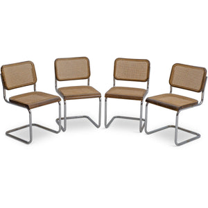 1920's Thonet B32 & B64 Dining Chairs by Marcel Breuer (Set of Six)