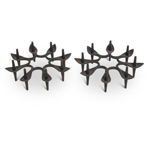 "Jens Quistgaard for Dansk Cast Iron Candle Holder - ""Starburst"""