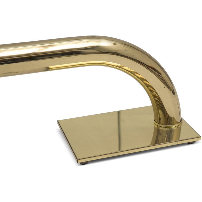Jim Bindman for Rainbow Lamp Co. Tubular Brass Desk Lamp
