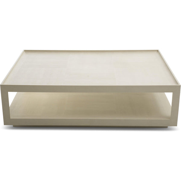 Karl Springer Snakeskin Coffee Table