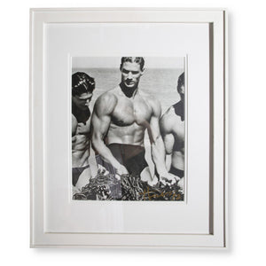"""Men With Kelp, Paradise Cove"" by Herb Ritts 1987"