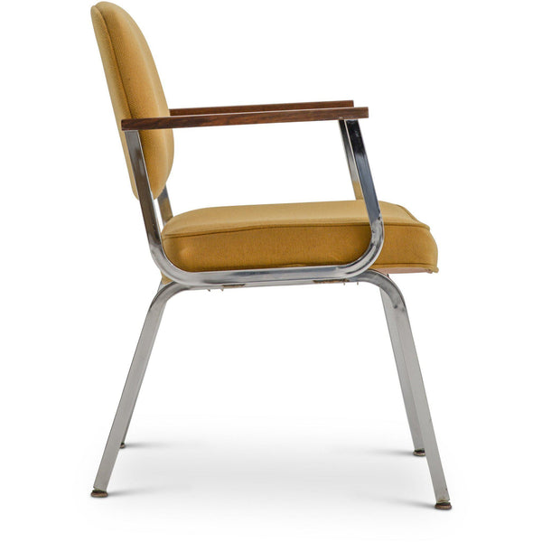 Mid Century Occasional Chair - Yellow