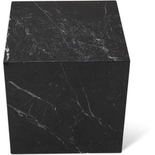 Load image into Gallery viewer, Nero Marquina Marble Cubic Table