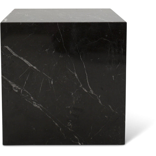 Nero Marquina Marble Cubic Table