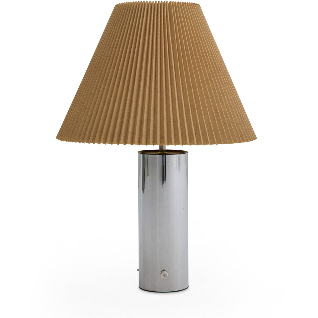 Robert Sonneman for George Kovacs Chrome Table Lamp