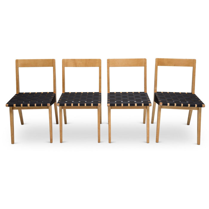Set of Jens Risom Model 666 Chairs for Knoll