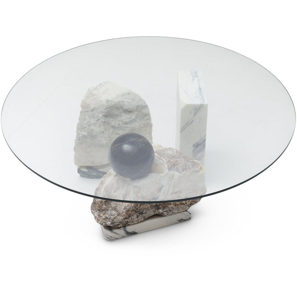 Stacked Stone Coffee Table