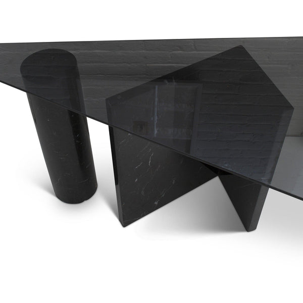 Vignelli Style Marble Console Table