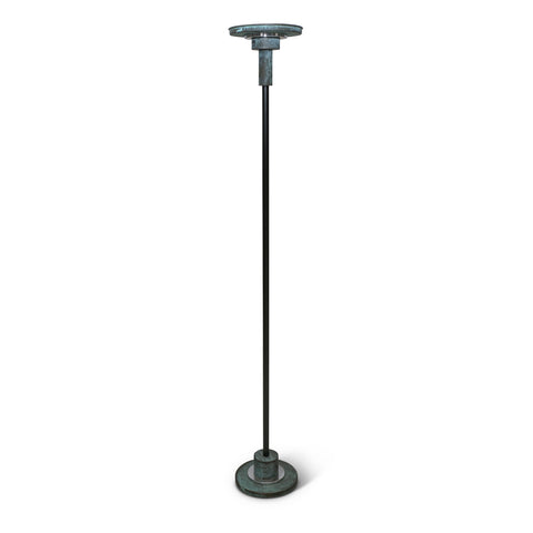 Patinated Bronze Post-Modern Floor Lamp