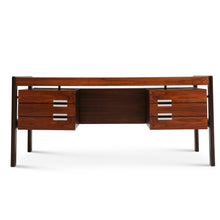 Load image into Gallery viewer, Dyrlund Rosewood Executive Desk