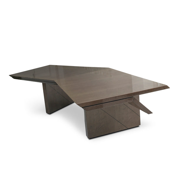 """Diagonal"" Executive Desk by Giovanni Offredi for Saporiti Italia"