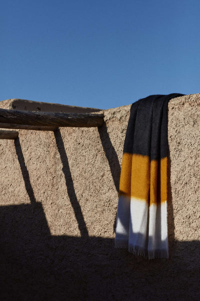 Handcrafted Mohair Blankets by VISO Project