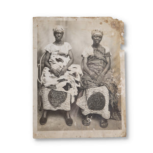 "19th Century Gelatin Silver Print, ""Untitled"" (Two Women)"