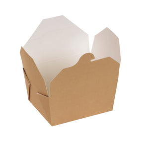 naturesse PLA Take Away Box 800ml 11,0x9,0x6,5cm