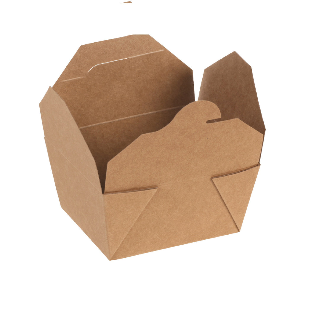 naturesse Kraft/PLA Take Away Box 13,0x9,0x6,5cm