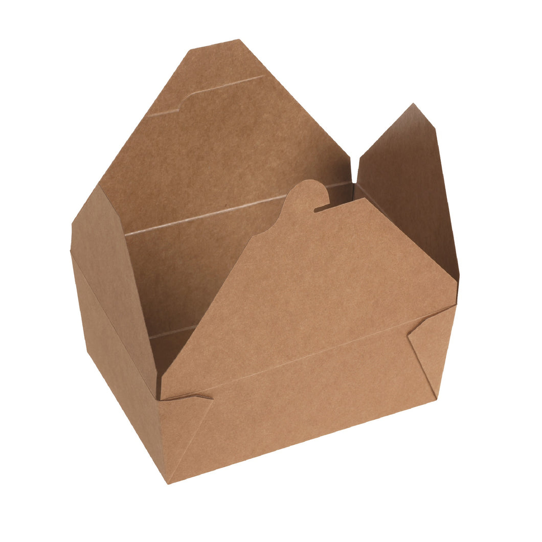 naturesse Kraft/PLA Take Away Box 19,7x14,0x9,0cm
