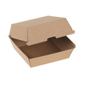 naturesse Kraft Hamburger-Box braun 125,0x125,0x80,0cm