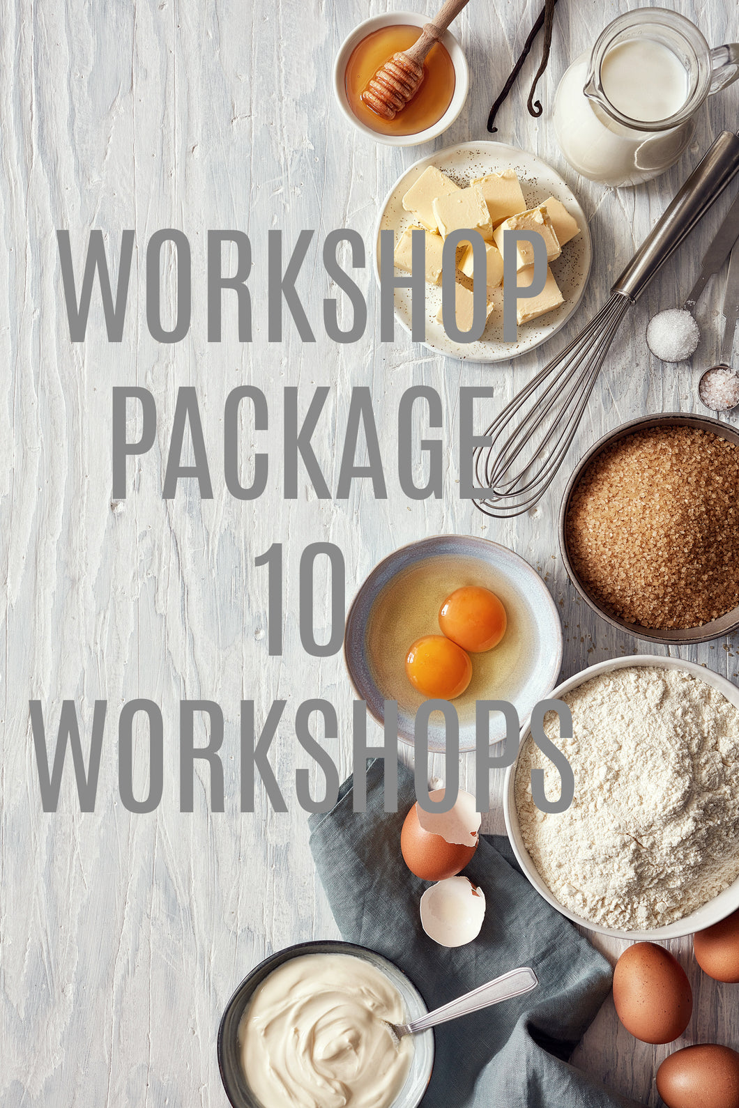 DGW Workshops Package (10 Workshops)