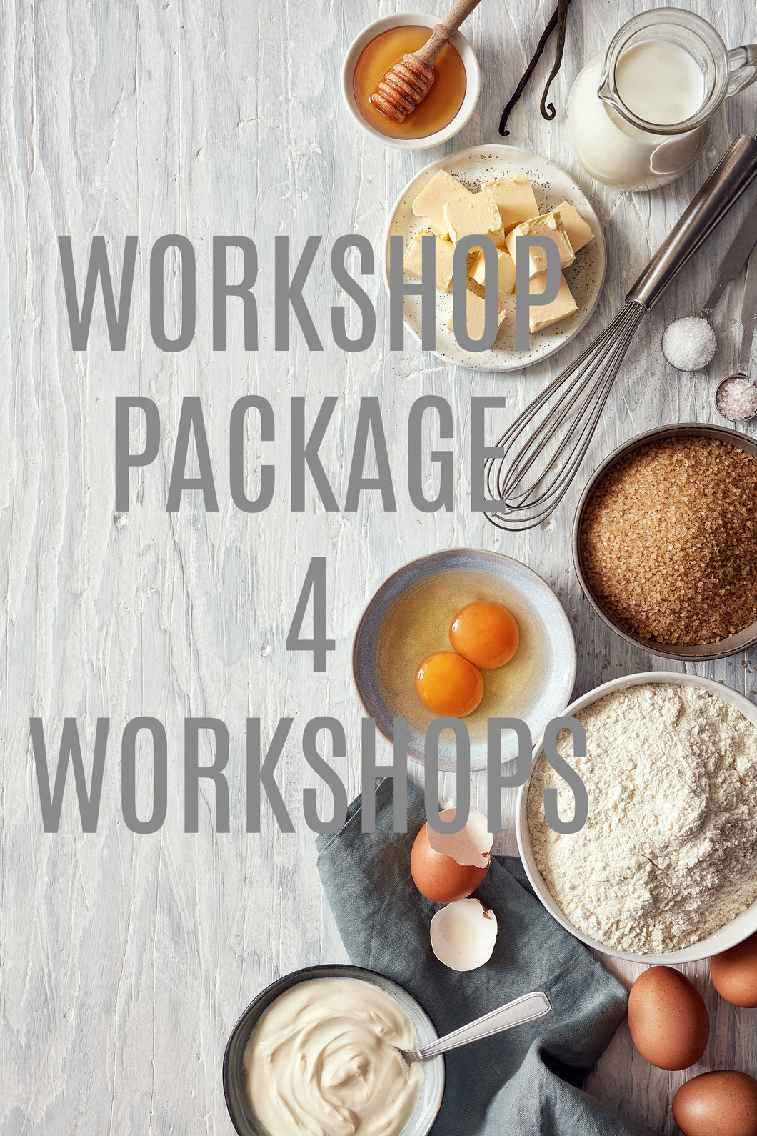 DGW Workshops Package (4 WORKSHOPS)