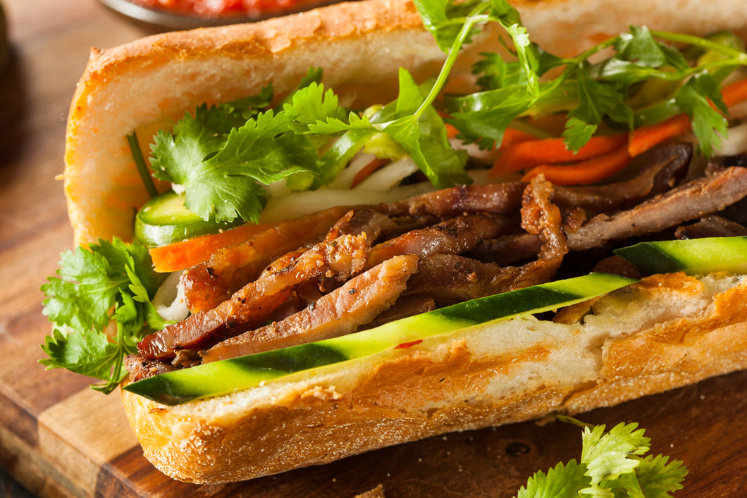 Hands-on Asian Bread Workshop 6 (Bahn Mi)