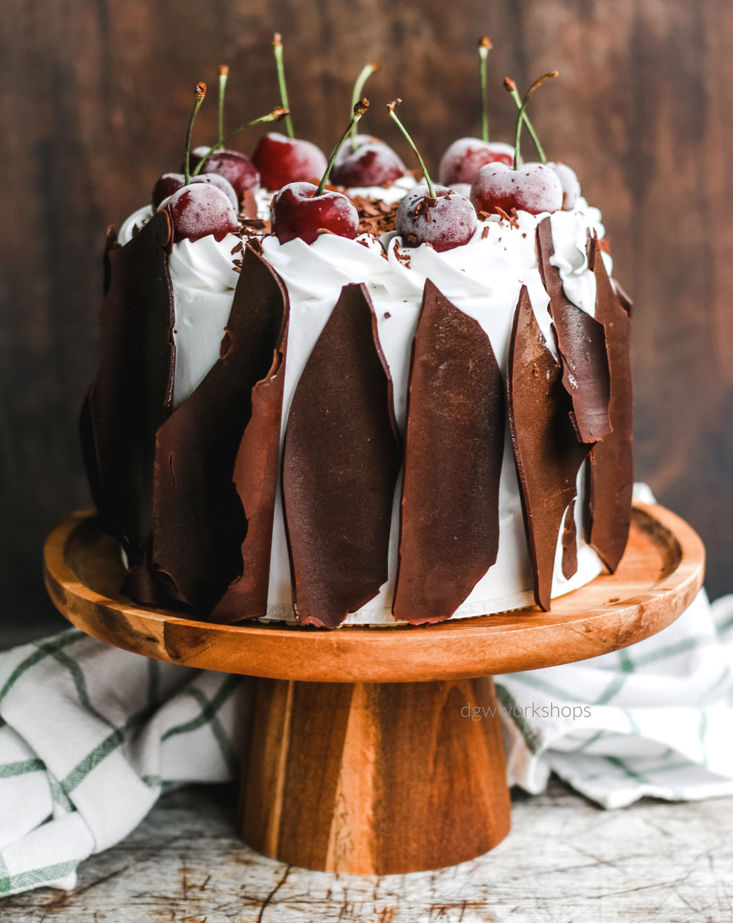 Hands-on Modern Black Forest Cream Cake Workshop