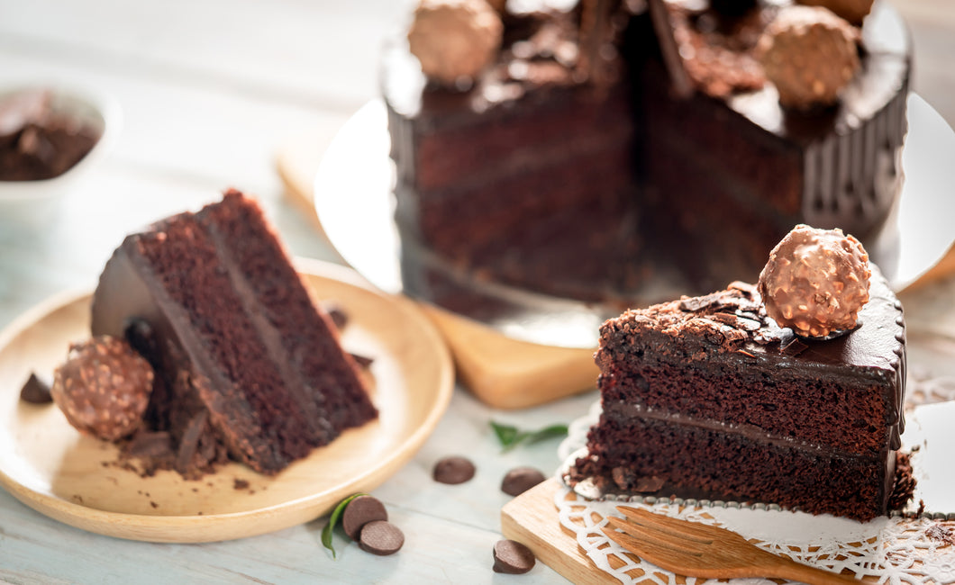 Hands-on Dark Chocolate Ferrero Rocher Cake