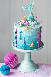 Hands-on Mermaid Cake Workshop