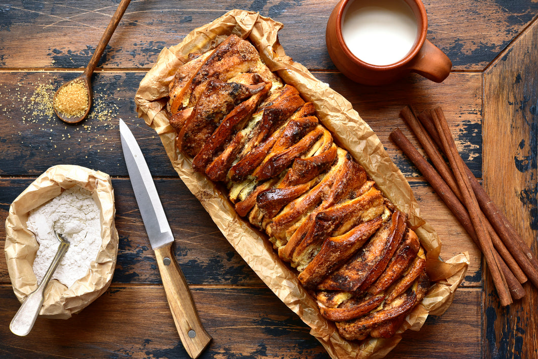 Hands-on Sourdough Pumpkin Pull-Apart Bread with Cream Cheese and Roasted Pecans & Sourdough Peanut Butter Cookies Workshop