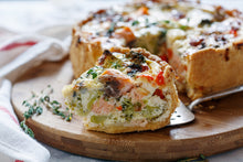Load image into Gallery viewer, Hands-on Smoked Salmon Quiche & Easy Salmon Patties Workshop