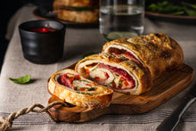 Load image into Gallery viewer, Hands-on Italian Stromboli & Easy Feta and Herb Bread Workshop