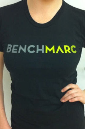 Women's Benchmarc Events Black T-shirt
